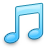 music, itunes, note, tone icon