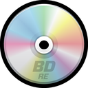 blu-ray, dvd, disc, cd, bluray, bd icon