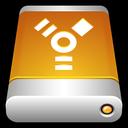 disk, storage, drive, firewire, usb, external icon