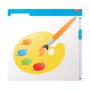 website, drawing, graphic, internet, marketing, web, seo, design icon