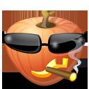 halloween, pumpkin, jack o lantern, cool icon