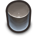 Black Cylinder icon