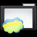 dark,folder,nimbus icon