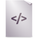 text, mime, gnome, html icon