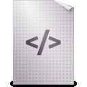 text, mime, gnome, html icon