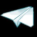 paper, airplane, document, file, plane icon
