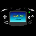 Gameboy Advance black icon
