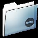 smooth, private, folder, graphite icon