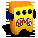 creature, orange icon