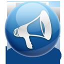 sound, speaker, announcement, blog, volume icon