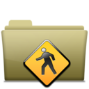 Folder Public Brown icon