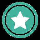 vote, star, top, bookmark, favorite icon