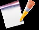 blog, write, note icon