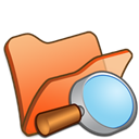 Explorer, Folder, Orange icon