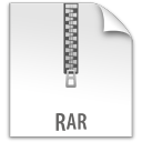 document, rar, file, paper icon