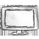 monitor, screen, computer icon