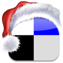 media, delicious, xmas, christmas, social, bookmark icon