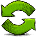 refresh, arrow icon