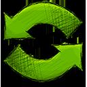 refresh, arrow icon