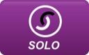 solo, curved icon