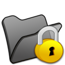 folder,black,locked icon