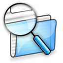 file, search, manager icon