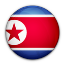 north, korea, of, flag icon