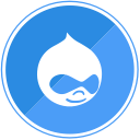 internet, cms, drupal, template icon
