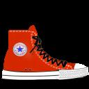 converse, red, tasi icon