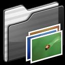 Wallpaper Folder black icon