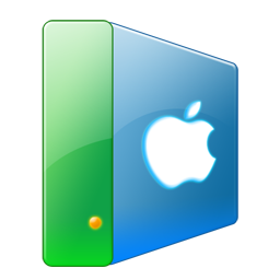 hard disk, hard drive, apple, hdd icon