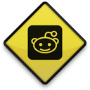 sign, reddit icon