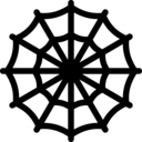 spiderman web icon
