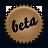 brown, splash, beta icon