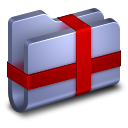 Package Blue Folder icon