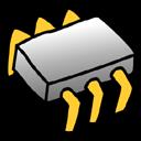 mem, memory, ram, chip icon