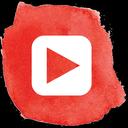 social, social media, play, player, video, multimedia, youtube, you tube icon
