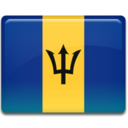 barbados,flag,country icon