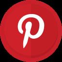 social media, photo sharing, pinterest, pinterest logo icon