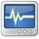 utilities, monitor, system icon