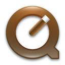 brown, quicktime icon