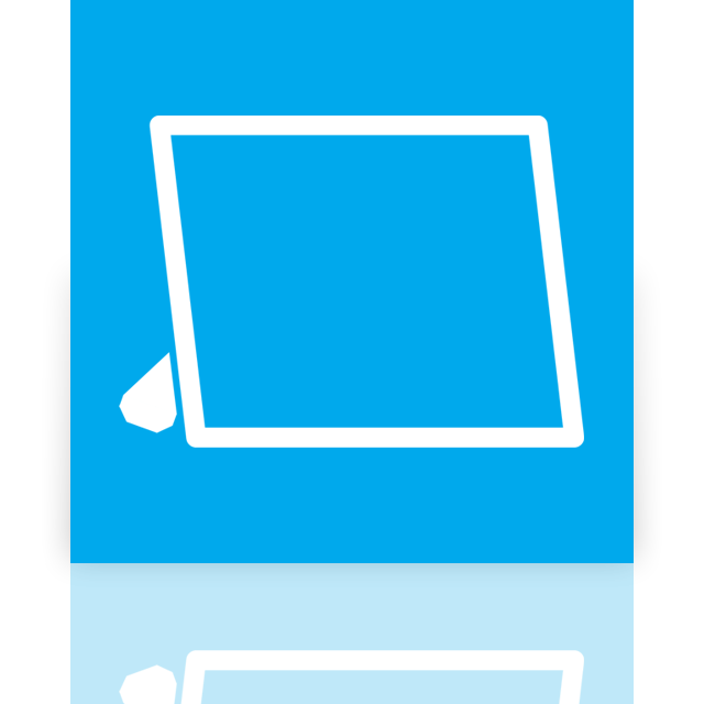 mirror, viewer, picture icon