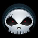 halloween, monster, reaper, skull, grim, bones, skeleton icon