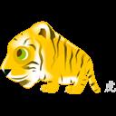 Tiger, Zodiac icon