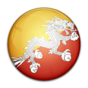flag,bhutan,country icon