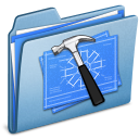 blue, alt, developer icon
