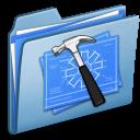 blue,developer,alt icon