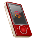 zune,rouge icon