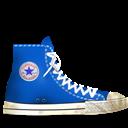 Blue, Converse, Dirty, Light icon
