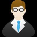 teacher male icon